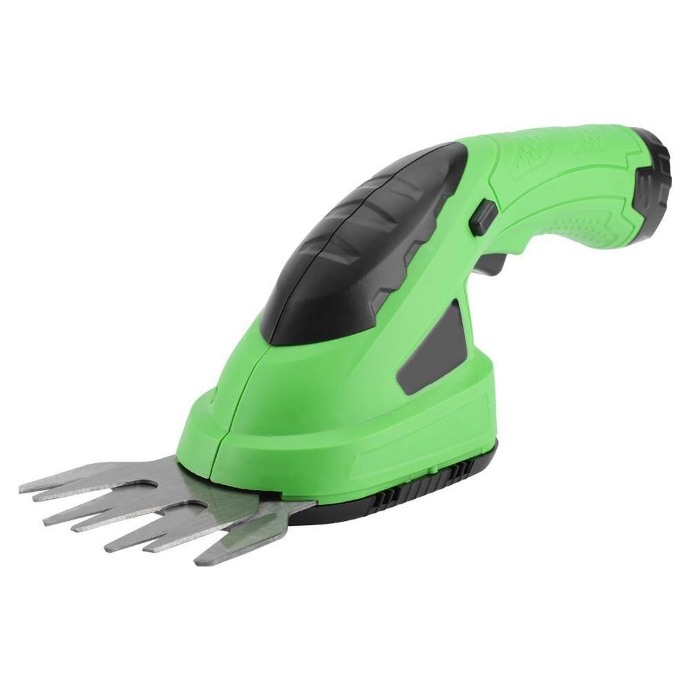 2 en 1 outil de jardin sans fil Lithium-ion Rechargeable coupe gazon cisailles pour tondeuse à gazon outils de jardin EU Plug 220 V/US Plug 110 V