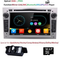 2DIN DVD GPS for Vauxhall Opel Astra H G J Vectra Antara Zafira Corsa Multimedia screen car radio stereo audio DAB+SWC RDS FM/AM