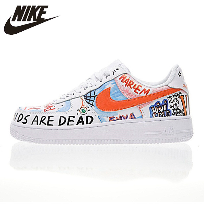 0db0883a3db Nike Air Force 1 Mid Women s Skateboarding Shoes Just do it Sneakers ...