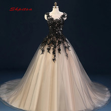 Black Quinceanera Dresses Ball Gown 2019 Debutante Long Prom Sweet Sixteen 16 Dresses vestido de 15 anos(China)