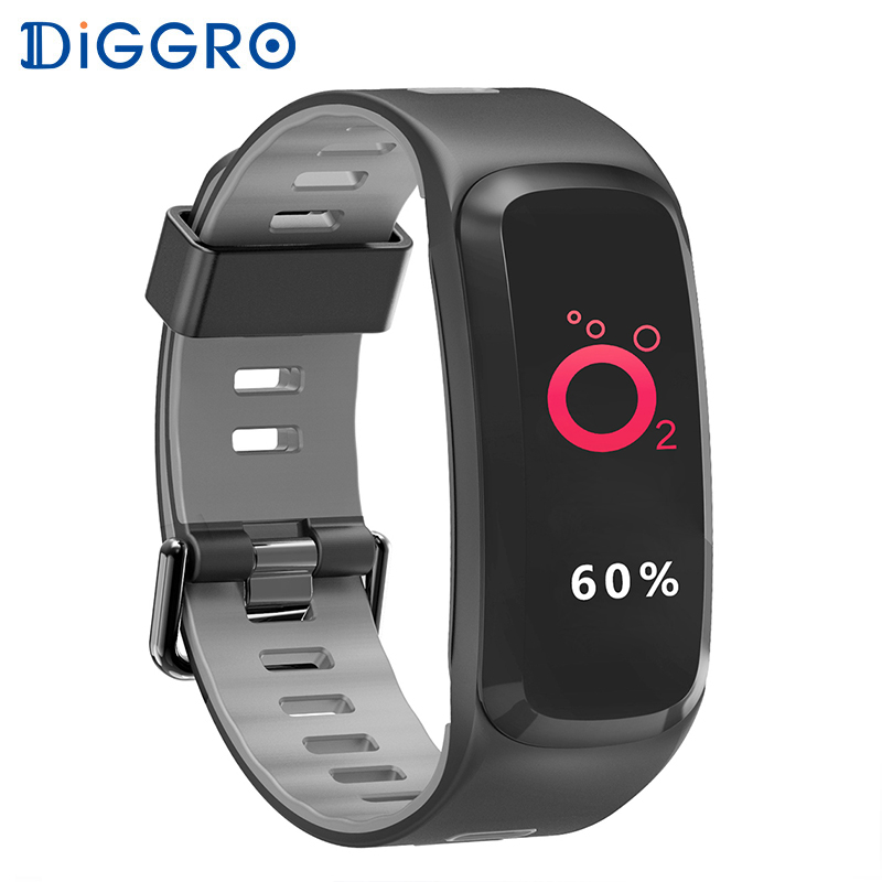 Color Screen F4 Plus Smart Bracelet fitness tracker Blood Pressure Blood Oxygen Heart Rate Monitor Smart band GPS smart watch ogeda women smart watch blood pressure blood oxygen heart rate monitor smart fitness bracelet activity tracker support running