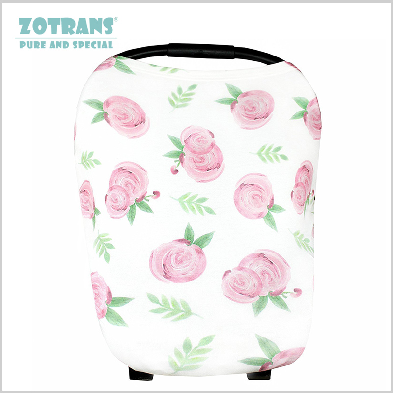 Mum Nursing Cover Scarf Breastfeeding Cover Multi-Use Baby Stroller Cover Infant Shopping Cart Carseat Cover Case for Feeding