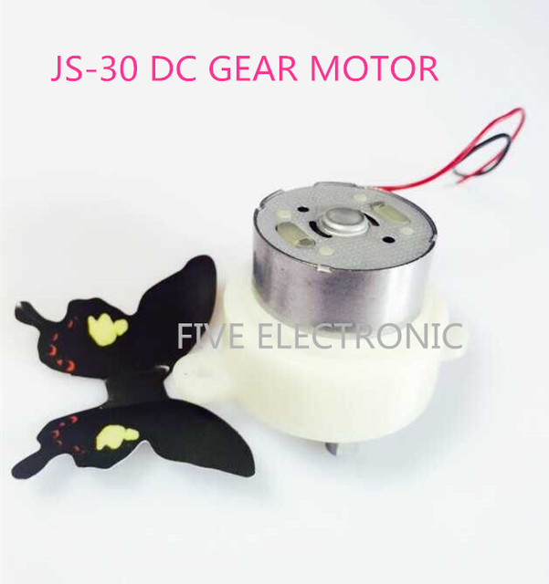 JS-30 DC GEAR MOTOR, JS30  use for Air conditioning, electric fan, advertising light boxes, display racks, arts and crafts,DIY