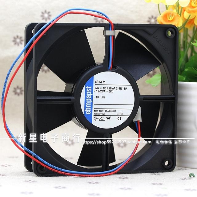 12 CM 4314 M 12032 2.6 W 0.11A 24 V conversor de frequência ventilador de refrigeração