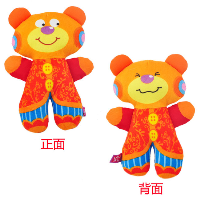 Book cloth rollaround large double faced handbell baby toy baby toy 11