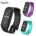 Lemado L38I Bluetooth Умный Браслет Динамический Монитор Сердечного ритма полноцветный TFT-LCD Экран Smartband для IOS Android Смартфон