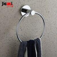 Stal nierdzewna Pierścień Ręcznik Okrągły Ou Shi Wei Yu Jie Lang Sha Powiesić Łazienka Wieszak Na Ręczniki 4160