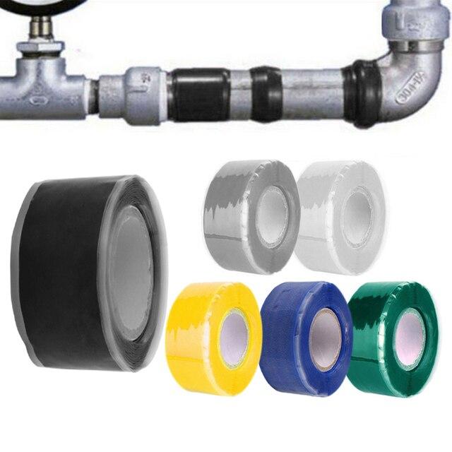 3 m/1,5 m x 2,5 cm cinta resistente al agua de fibra súper fuerte detener fugas sello de reparación de la cinta de rendimiento arreglar cinta Fiberfix cinta adhesiva