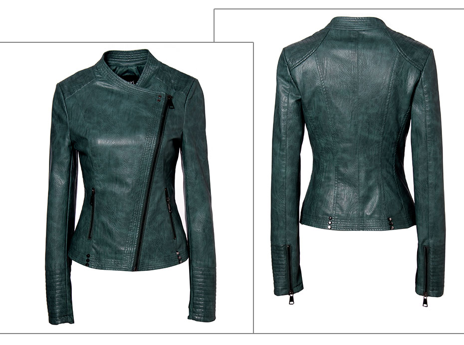 Leather Jacket Woman (4)