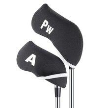 pcs/0Pcs Golf Club Head Covers Protector Set Iron Putter Protective Head Cover Putter Headcover Outdoor Sports Golf Accessorie цены