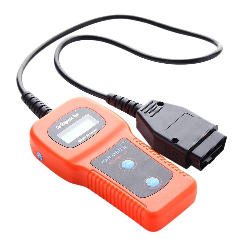 U480 OBD2 автомобильный диагностический сканер авто двигатель считыватель кода неисправностей читатель обслуживающий автомобиль точный неисправностей автомобиля инструмент для чтения кода