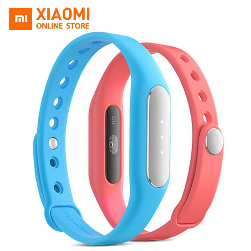 imágenes para Original Xiaomi Mi Banda 1 S pulso pulsómetro rastreador de fitness inteligente banda miband Bluetooth 4.0 Pulsera