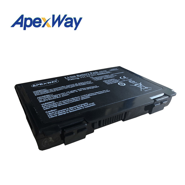 ApexWay 11.1V Laptop Battery for Asus a32-f82 a32-f52 a32 f82 F52 k50ij k50 K51 k50ab k40in k50id k50ij K40 k50in k60 k61 k70 3