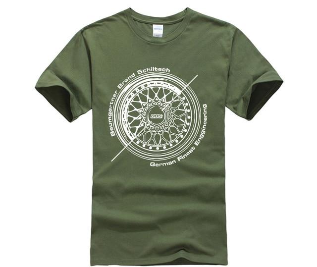 Men T Shirt BBS Wheels...