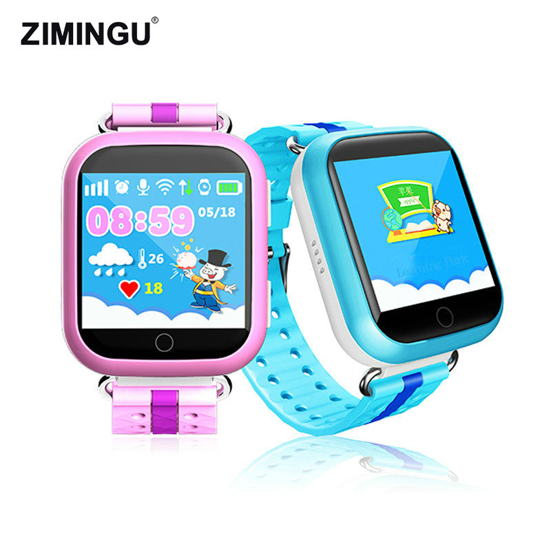 ZIMINGU 2017 GPS Smart Watch Q750 Children Watch with 1.54inch Touch Screen SOS Call Location Tracker for Safe Anti-Lost Monitor wireless service call bell system popular in restaurant ce passed 433 92mhz full equipment watch pager 1 watch 7 call button