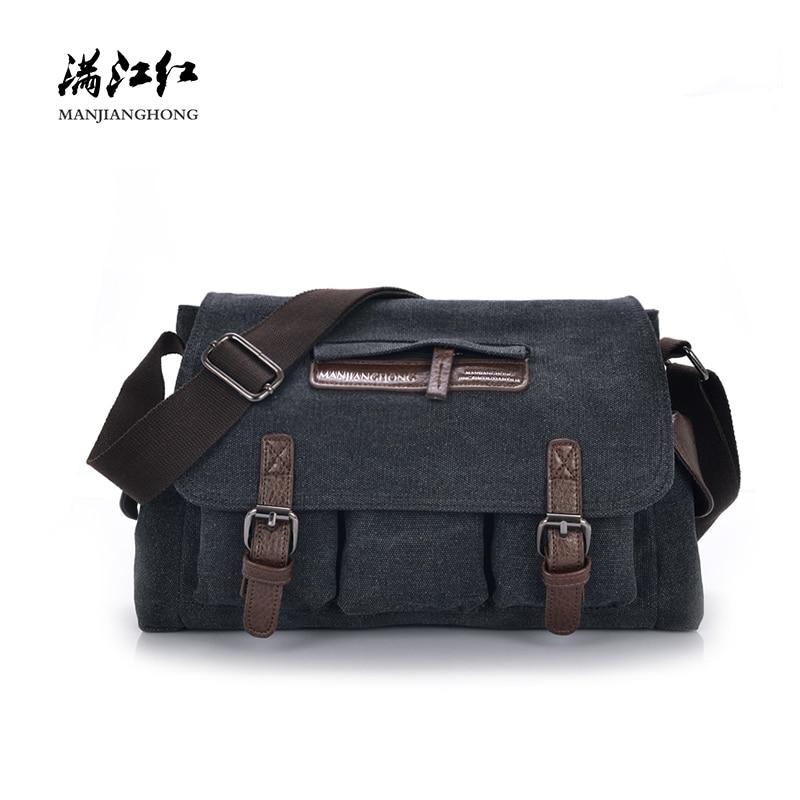 Fashion Black Canvas Men Messenger Bags Vintage Patchwork Crossbody Bags For Men Large Casual Men Shoulder Bag Male Satchel 1195 цена 2017