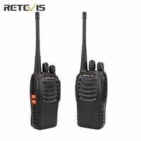 2 PCS Portable Radio Walkie Talkie H 777 Retevis OEM For Baofeng UHF 400 470MHz Station