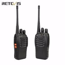 2 шт. Retevis H777 Walkie Talkie Transceiver UHF400-470MHz Частота Удобный переносной радиоприемник Любительское двухстороннее радио A9105A