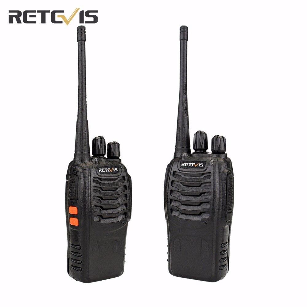 imágenes para 2 unids Transceptor Frecuencia UHF400-470MHz Walkie Talkie Retevis H777 Radio Amateur Radio de Dos Vías Portable Práctico A9105A