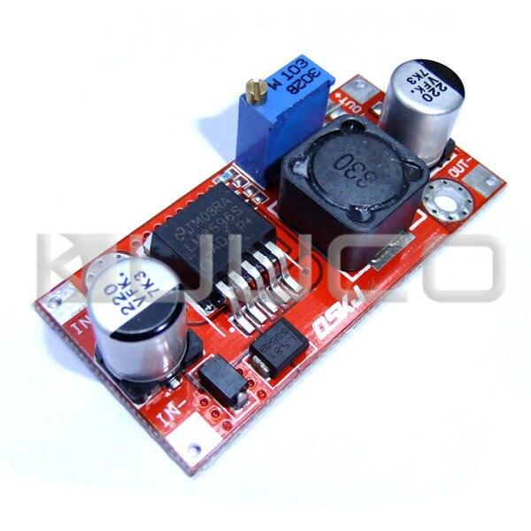 5 PCS/LOT 13W Adjustable Voltage Regulator DC 4.5~35V to 1.25~30V 3A Buck Power Supply DC 12V 24V Power Adapter/Driver Module