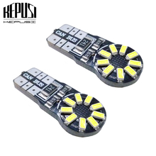 2x Canbus LED T10 3014smd Car Instrument Panel lamp Clearance light License Plate Bulb For Toyota Camry corolla2011 rav4 chr
