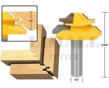 Инструмент для работы с деревом для обстругивания, фигурной резки, резки под углом 45°, с резцом для зарезки шипа 1/2 Х 2 со стержнем 1/2