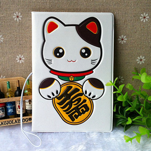 3D stereo Lucky Cat Passport Cover passport holder identity document sets sets - essential travel abroad to study