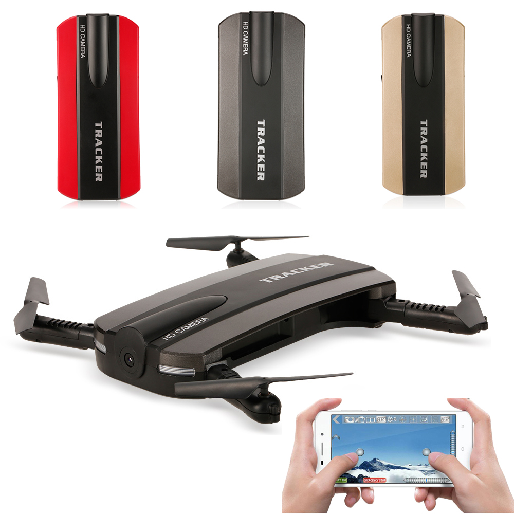 JXD 523 523W Foldable Mini Quadcopter Dron Drone Helicopter with HD Camera FPV Selfie Pocket Drone