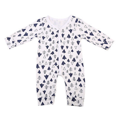 Pudcoco Infant Baby Romper Kids Boy Girl One-piece Outfits Autumn Base Cotton Playsuit Pajamas Clothes 0-2Y