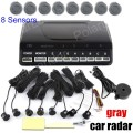 new arrival Reversing Parking System Kit Car Parking Sensor without Display 9 colors for option Auto Parking radar