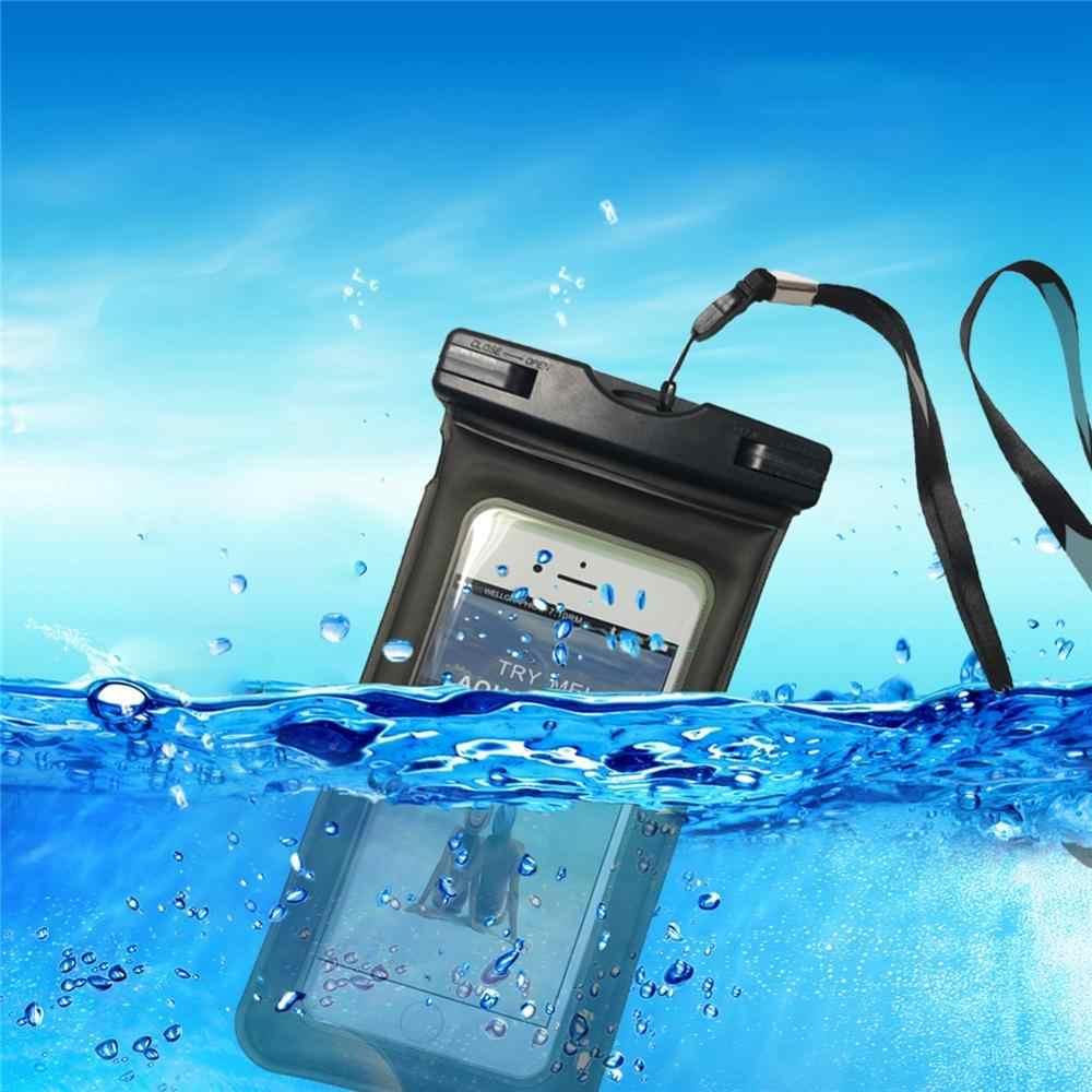 جودة كيس مقاوم للماء لسامسونج غالاكسي M40/M30/M20/M10/A60/A50/A40/A30/A20/A20e/A10 المياه برهان حقيبة جراب هاتف