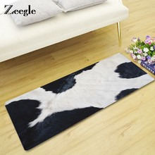 Zeegle Imitated Furs Floor Mat Non-slip Door Mat Kitchen Carpet Kid Bedroom Beside Rug Sofa Coffee Table Home Decor Rug(China)