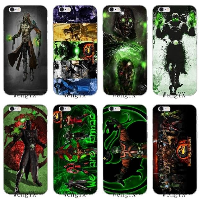 eda53194a043 Mortal Kombat Ermac Slim silicone Soft phone case For Xiaomi Mi 6 A1 5 5s  5x mix max 2 Redmi Note 3 4 5 5A pro plus
