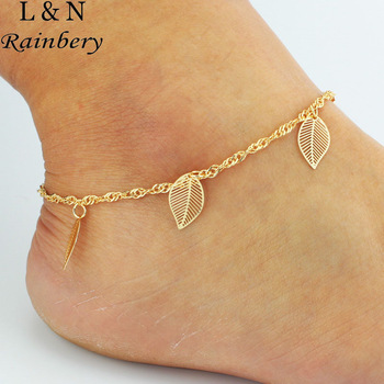 Rainbery 2016 DIY Anklet Chain with Small Butterfly Hamsa Fatima Hand Anklet Beach Foot Jewelry Ankle Bracelets For Women