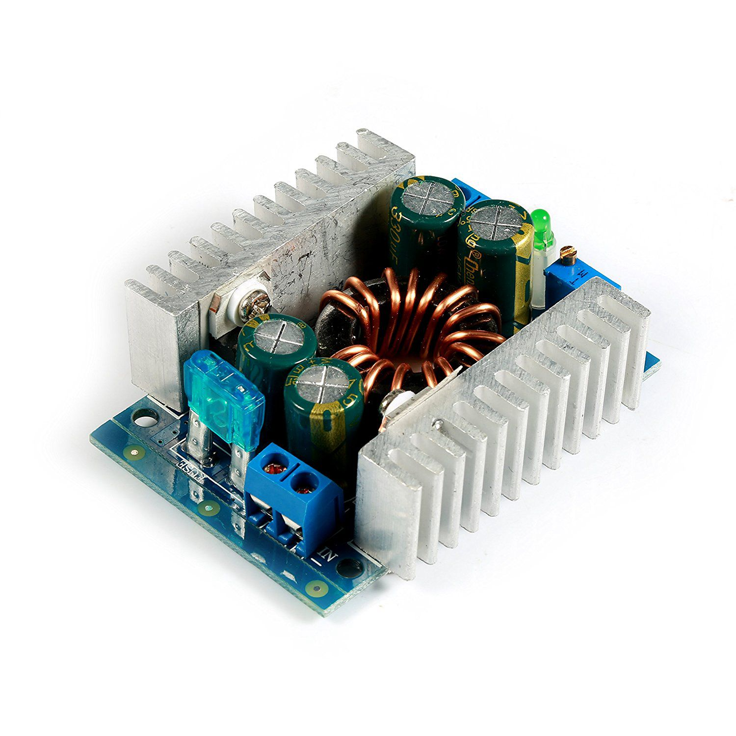 150W DC Boost Converter Power <font><b>Transformer</b></font> Module 8-<font><b>32V</b></font> to 9-46V 12/24V Step-up Volt Inverter Controller Stabilizer for Car Autom image