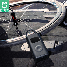 In Lager Xiaomi Mijia Tragbare Smart Digitale Reifendruck Erkennung Elektrische Luftpumpe Pumpe für Fahrrad Motorrad Auto Fußball
