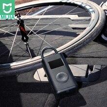 Pompa di gonfiaggio elettrica Xiaomi Mijia, portatile, intelligente, digitale, con rilevazione della pressione dei pneumatici, per bici, moto, auto, calcio