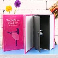 Book Safe Box Secret Hidden Security Safe Lock Cash Money Jewellery Locker Box M Size Piggy