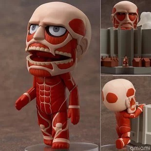 "Cute Anime 4"" Nendoroid Attack on Titan Shingeki no Kyojin Hoover PVC Action Figure Model Doll Brinquedos Toy Gift Free Shipping"