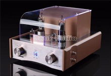 2016 New Douk Audio Solid State Vacuum Tube Amplifier Stereo HiFi Class A Home Audio Integrated Power Amplifier