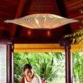 Бамбуковые светильники для гостиной  ресторанная лампа в китайском стиле  деревянные лампы  светильники для столовой