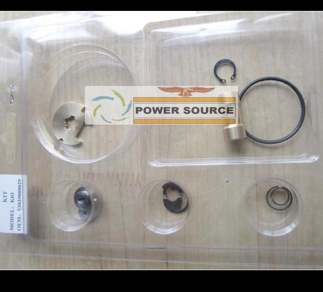 Turbo Repair Kit rebuild Kits K03 29 53039880029 53039700029 058145703J 058145703N For AUDI A4 A6 VW Passat 1.8T APU ARK 1.8L epman silicone intercooler turbo boost hose for audi all s4 a6 2 7l bi turbo kit 98 03 12pcs ep adt004
