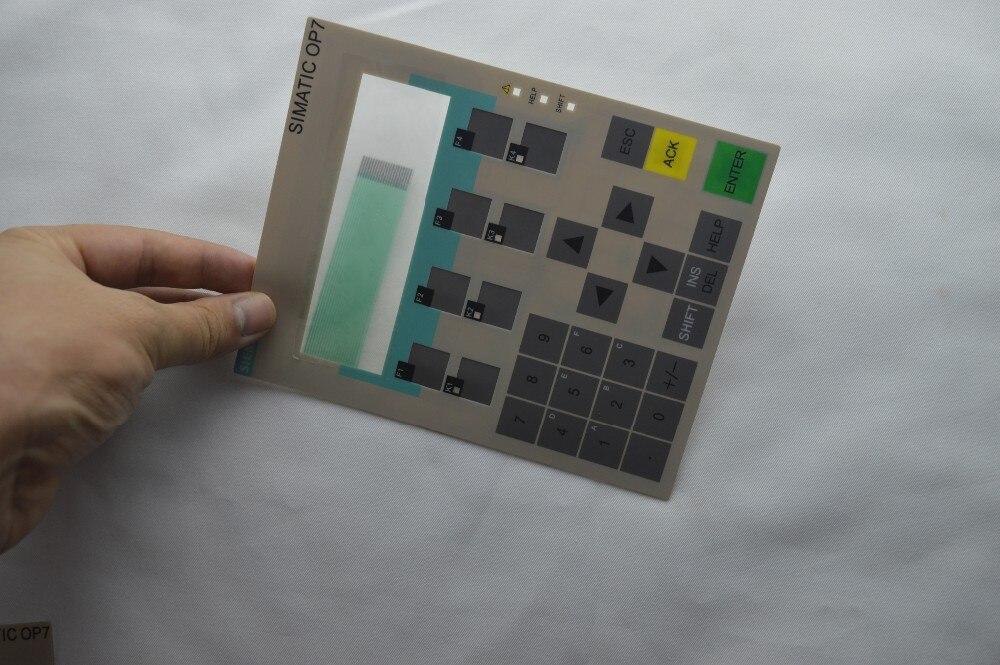 New Membrane switch 6AV3 607-1JC30-0AX2 for OP7/DP12, 6AV3607-5BB00-0AH0 hmi keypad ,simatic HMI keypad , IN STOCK membrane switch for 6av3607 5bb00 0af0 op7 dp 6av3 607 5bb00 0af0 hmi keypad simatic hmi keypad in stock