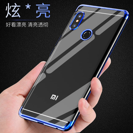 outlet store 1a232 c2f50 US $1.79 10% OFF|Aliexpress.com : Buy For Xiaomi Redmi Note 5 Pro Case Soft  TPU Slim Plating Transparent Protective Back cover cases For xiaomi redmi  ...