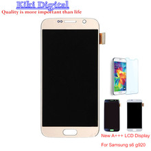2pcs Perfect quality LCD For Samsung galxy S6 G920a G920f G920i G9200 LCD Display Screen Digitizer Assembly By DHL
