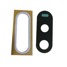 100pcs/lot New Rear Back Camera Lens Plastic Cover with Adhesive Sticker for Motorola MOTO G4 Replacement Parts