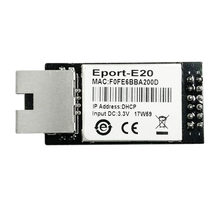 HF Eport-E20 freentos puerto de servidor de red TTL serie a módulo integrado Ethernet DHCP 3,3 V TCP IP Telnet certificado CE(China)