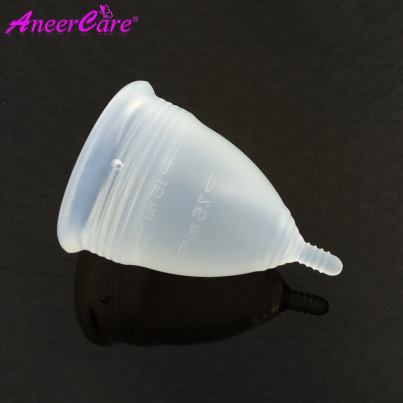 25 pcs /lot Aneer softcup copa menstrual cup silicon woman feminine hygiene product Collector Menstrual coupe menstruelle