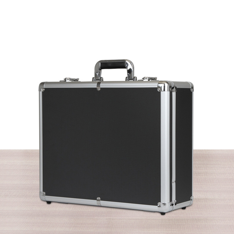 450 370 180mm Tool Box Aluminum Alloy Hardware Toolbox Large Capacity Tool Case Suitcase File Box