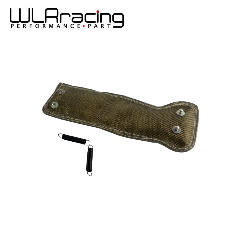 WLR RACING - Turbo Heat Shield / SPRING FOR Subaru + Turbocharger Blanket WRAP WRX (Color: Titanium) WLR2306T